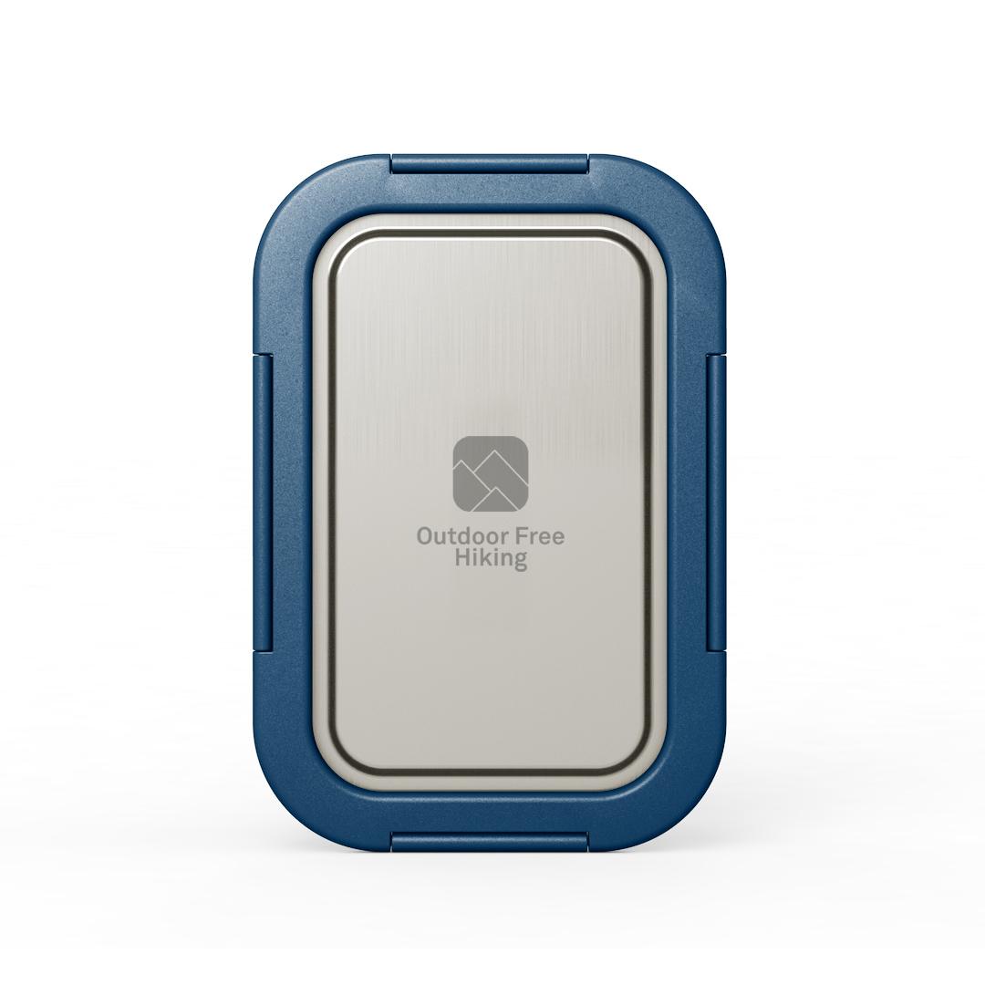Edelstahl Lunchbox mit Logogravur 2