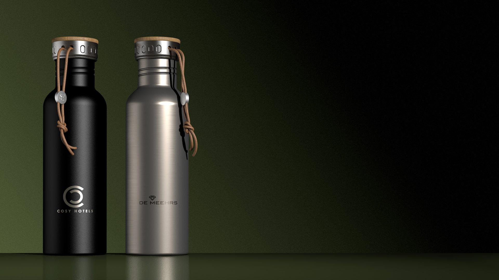 Trinkflasche für Kunden
